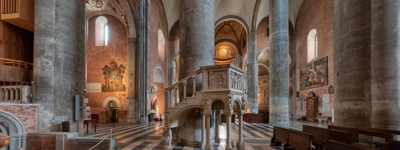 Interno, Piacenza, cattedrale di S. Maria Assunta, ©Marco Stucchi