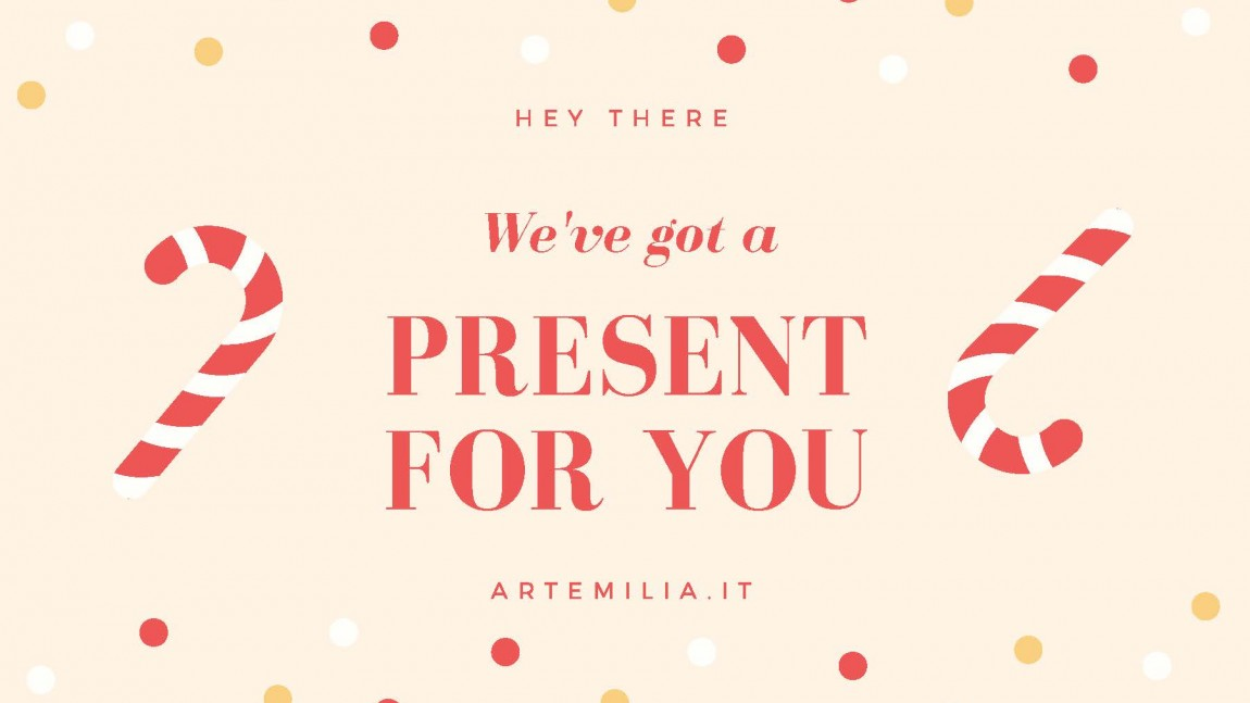 Artemilia Christmas Gift Certificate