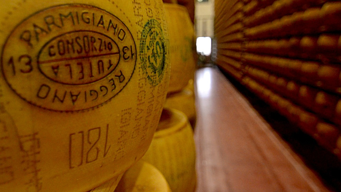 Parmigiano Reggiano & Balsamic Vinegar