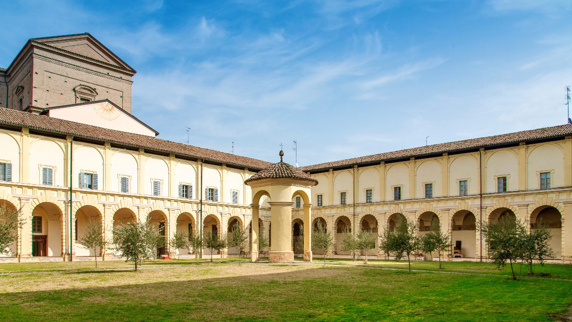 The Franciscan Convent and the Church of SS. Annunziata in Parma